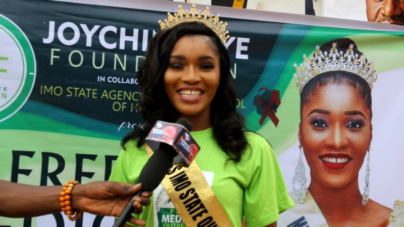 Miss Imo 2018: JoyChinonye Foundation embarks on free medical outreach 4
