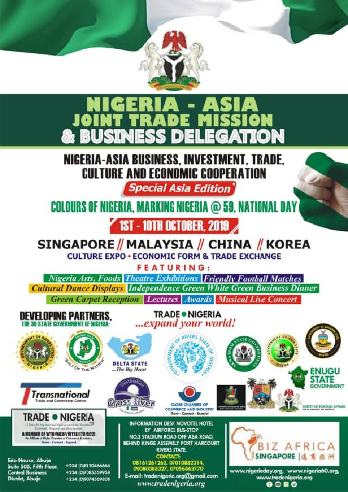 Nigeria – Asia Joint Trade Mission: What you need to know